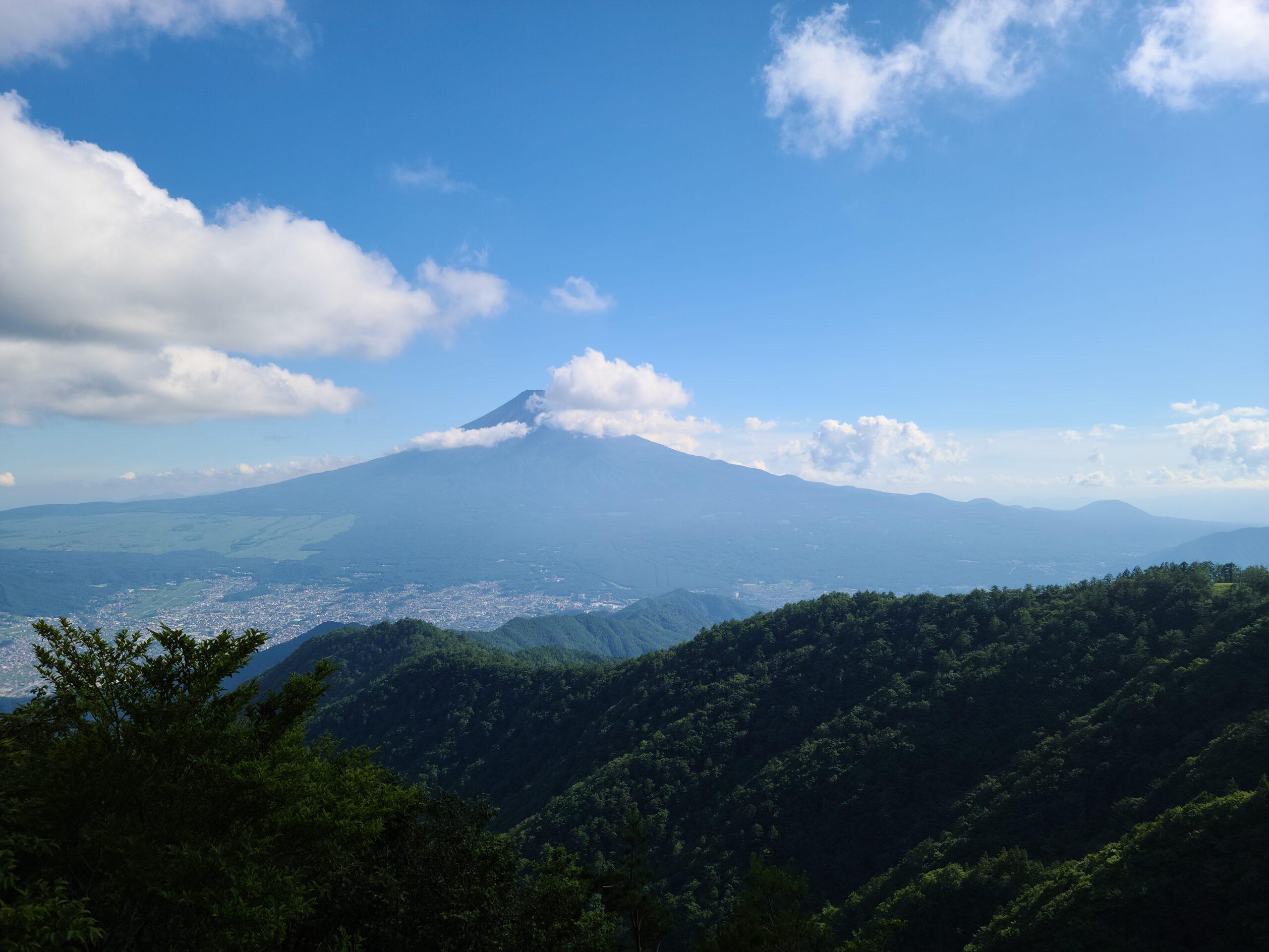 三ツ峠山登山